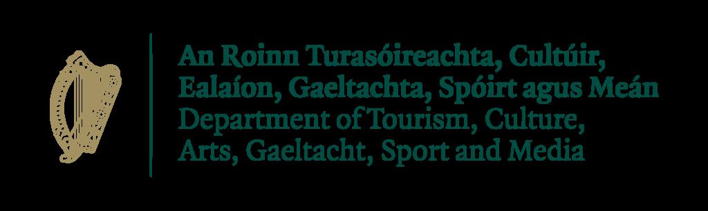Photo of Logo for Dept. Tourism, Culture, Arts, Gaeltacht, Sport, Media_Standard_Standard
